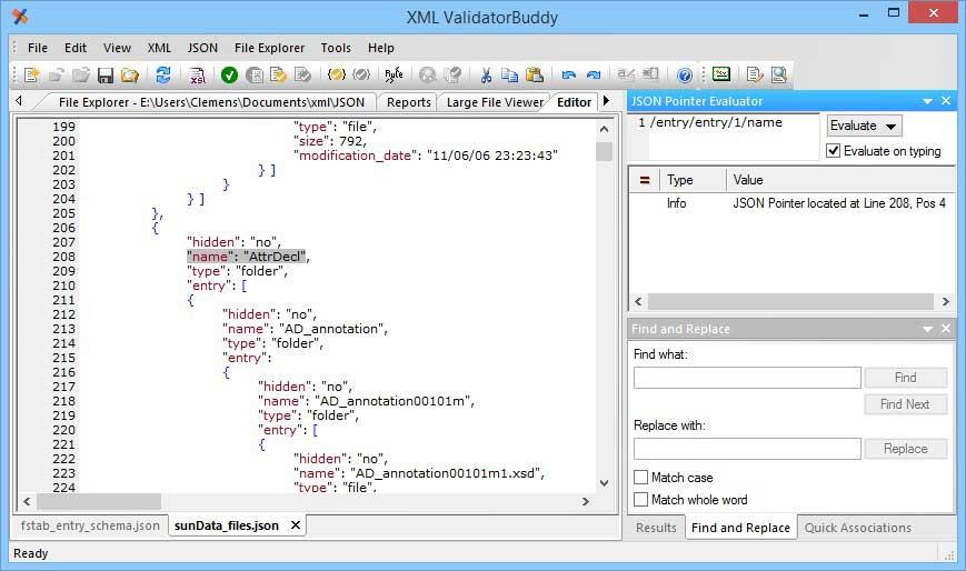 Learn json schema editor
