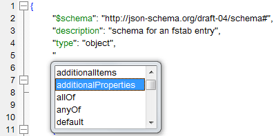 JSON Schema Editor for Windows ®