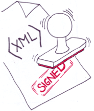 sign and verify xml