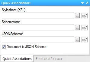 Set as JSON schema